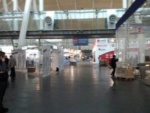 CeBIT 2012 - Montag, Aufbau