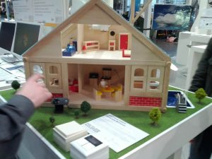 CeBIT 2012 - Montag, Aufbau / Smart Home Control