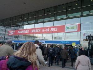CeBIT 2012 - Tuesday, Entrance