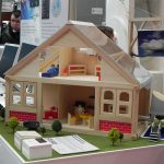 CeBIT 2012 - Smart Home Control, model house