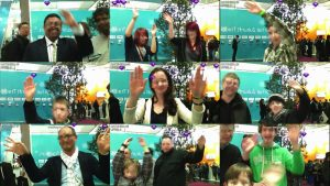 CeBIT 2012 - Braincademy, Webcam-Game, Collage