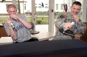 Einsatz der Nintendo WII in der Rehabilitation von Soldaten